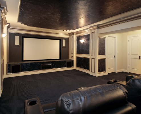 Custom Home Theater Design in NYC
